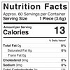 Full Spectrum Clear Bears Nutrition Facts