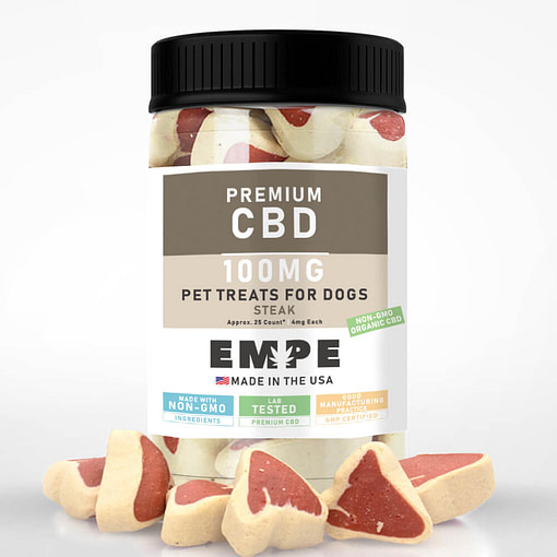 CBD for Pets - Steak 100mg with sample