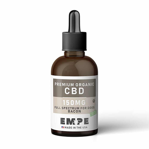 CBD Tincture For Dogs - Bacon