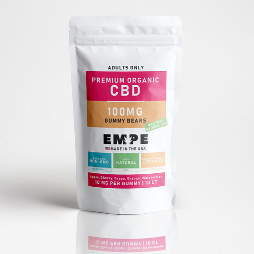 CBD gummy bears premium organic cbd products