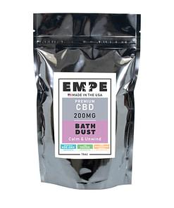 CBD Bath Dust Front Calm and Unwind