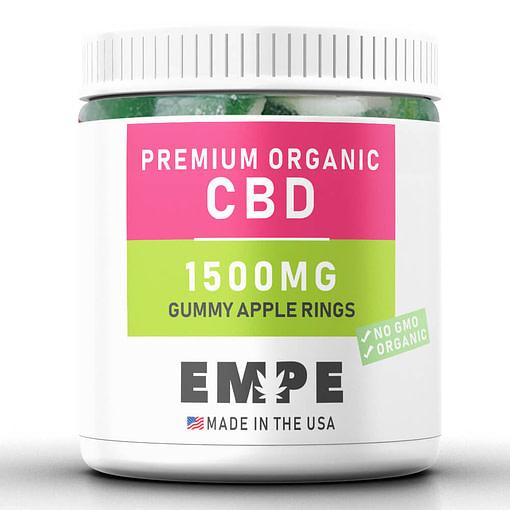 Cbd Gummy Apple Rings 1500mg
