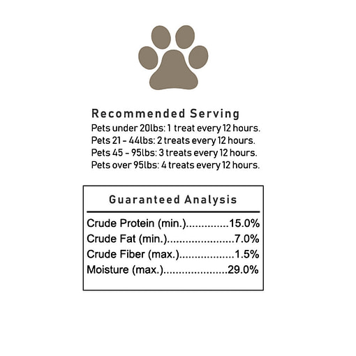 CBD Treats for Dog 100mg - Pigs in a Blanket - Serving