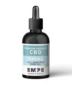 CBD Full Spectrum Hemp Oil Tincture 1500mg
