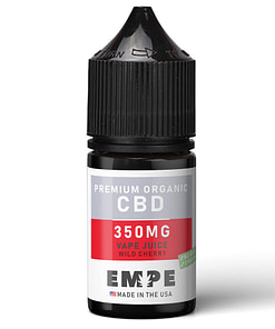 Organic CBD Vapejuice wild cherry