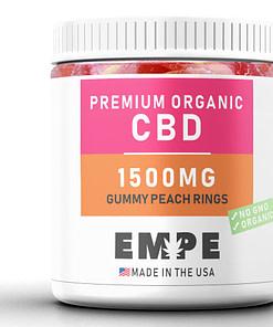 Cbd Gummy Peach Rings