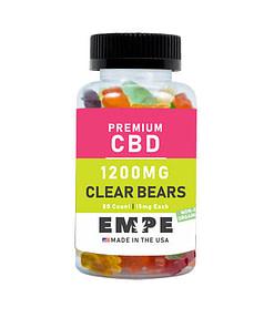 CBD Clear Bear Gummies Main