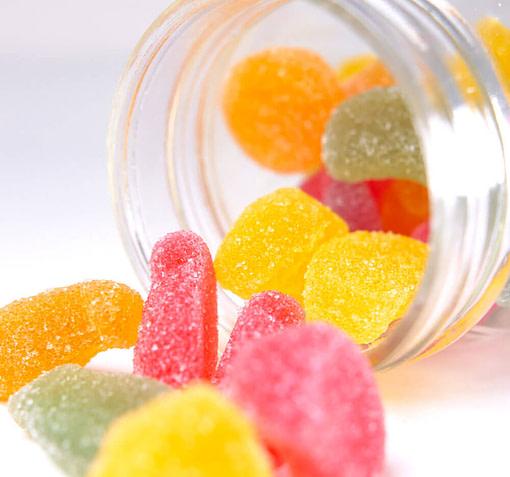 CBD Fruit Slices Sour Gummies