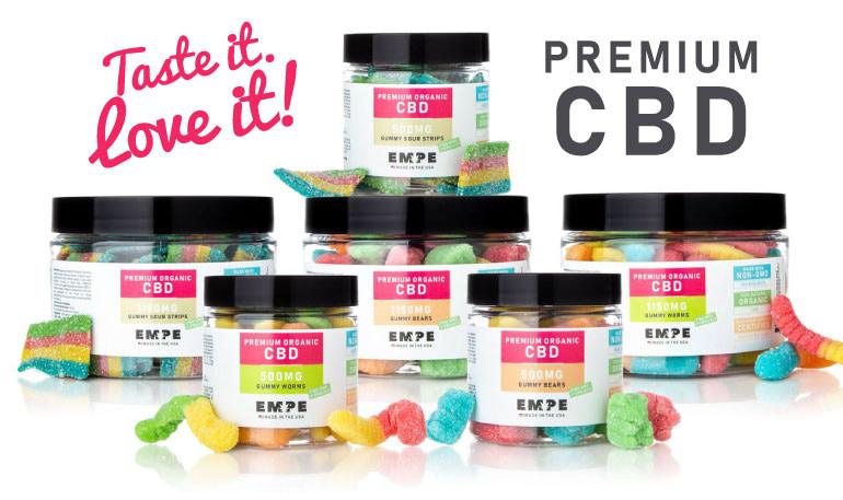 premium cbd candies edibles