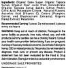CBD Organic Gummies Vegan Fruit Slices 1500mg Ingredients