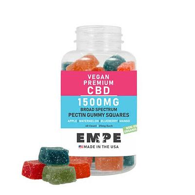 Vegan CBD Gummies - Broad Spectrum CBD Pectin Gummies