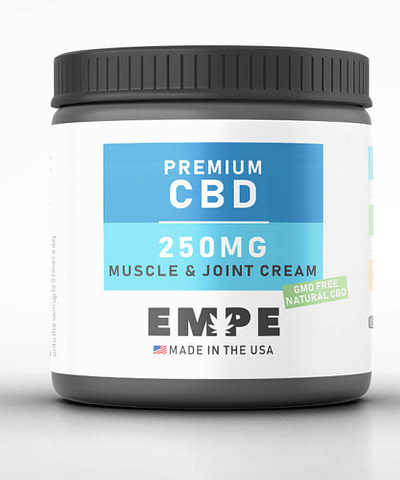 CBD Pain Relief Lotion Muscle and Joint Cream 250mg