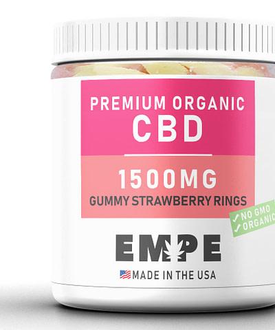 Cbd Gummy Strawberry Rings