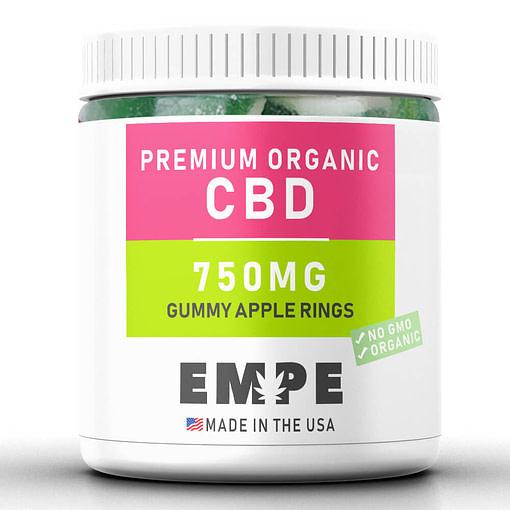 Cbd Gummy Apple Rings 750 mg
